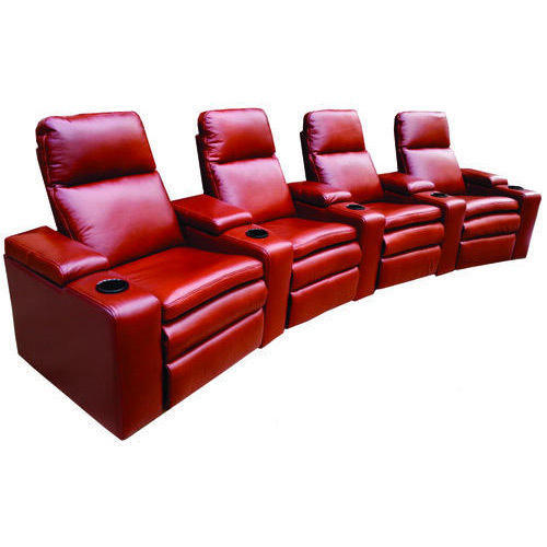 Four Seater Recliner Sofa 4 Seat Leather Reclining Sofa