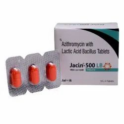 Azithromycin 500mg with Lactic Acid Tab