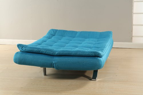 Blue And Green Modern Designer Sofa Cum Bed For Living