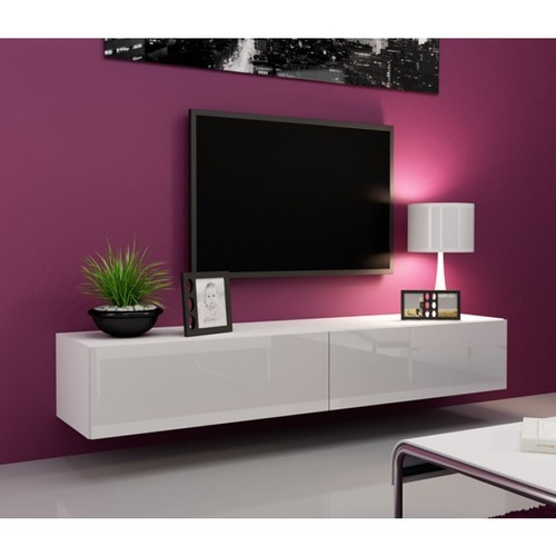 white glossy tv unit at rs 1550 square feet television unit tv rh indiamart com black gloss tv units black gloss tv units