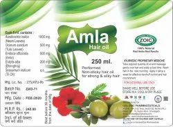 Herbal Amla Hair Oil, Packaging Size: 250 mL