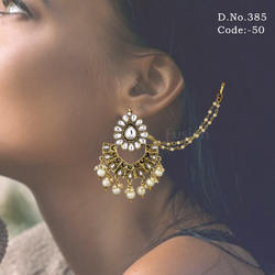 Traditional Kundan Earring