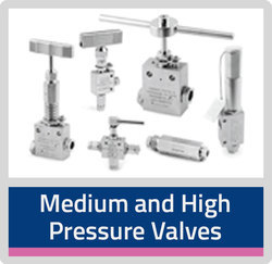 Medium and High Pressure SS Valves