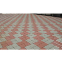 Red And Grey Outdoor Cement Paver Tile