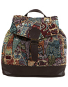 Tapestery Jacquard Backpack