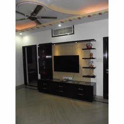 Genial Kalp Modular Dark Brown LCD TV Unit