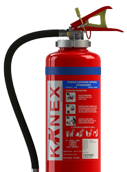 KANEX FOAM ABC Stored Pressure Portable Fire Extinguisher for Office, Capacity: 5Kg