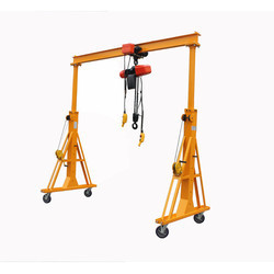 Portable Gantry Crane Without Chain Pulley Block