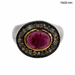 Stylish Ruby Ring
