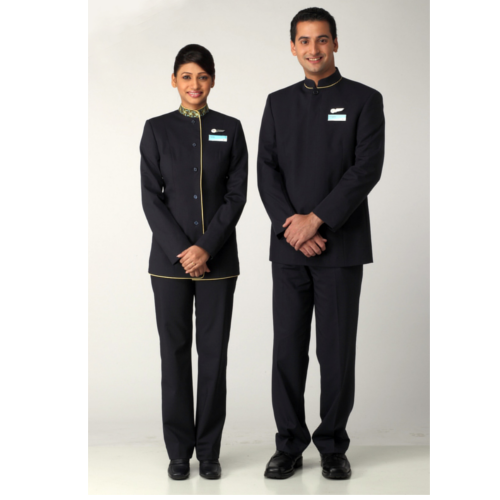 Cotton Hotel Front Office Uniform, Size: Small And Large