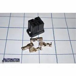Fanuc A06B-6110-K202/YYM Servo Drive Power Connector, - 40 To 80 Deg C, Brass,Abs Etc