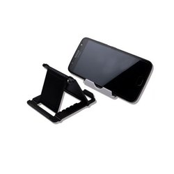 Black ABS Plastic Adjustable Mobile Stand Holder, For Home,Office, Size: 7 x 8 x 1 cm