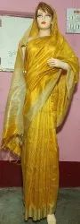 Silk Saree, Hand Made, 6.3 M (with Blouse Piece)