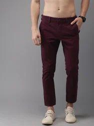 Comfort Purple Trouser For Men