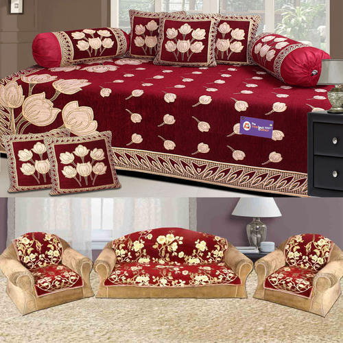 Surprising Sofa Diwan Cover Floral Sofa Cover Manufacturer From Panipat Lamtechconsult Wood Chair Design Ideas Lamtechconsultcom