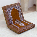 Relaxing Buddha Meditation and Yoga Chair with Back Support Memory Foam Seat Cushion Floor Chair