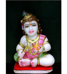 Marble Ladu Gopal Statue