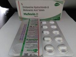 Mefenamic Acid 250mg Drotavarine Hcl 80mg