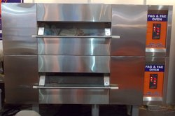DOUBLE DECK DUAL MODEL OVEN