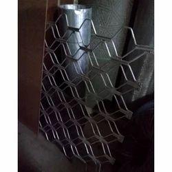 Silver Aluminium Window Grill