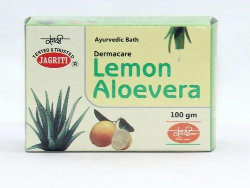 Jagriti Lemon And Aloevera Lemon Aloevera Bath (Soap) for Personal And Clinical