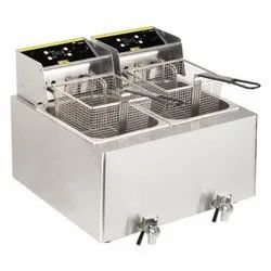 Electric Double Deep Fryer