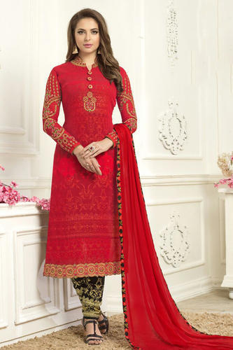 ad4d53d568 Georgette Party Wear Indian Salwar Suits, महिलाओ का ...
