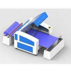 Textile Engraving-Cutting Machine