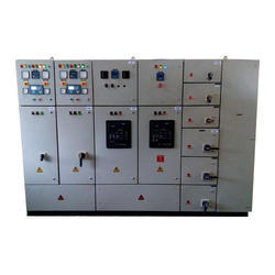Mild Steel 3 - Phase Power Control Center Panel
