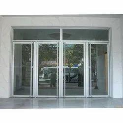 Aluminium Glass Entrance Double Door
