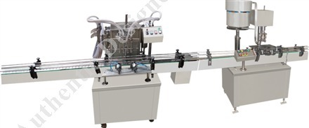 Automatic Four Head Filling & Capping Machine, Capacity: Up To 1000 Ml (with Change Parts)