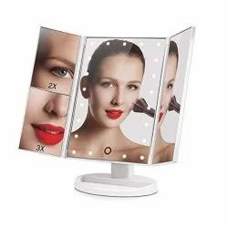 Touch Sensitive LED Light with 180 Degree Adjustable Skyfish Magic Makeup Mirror