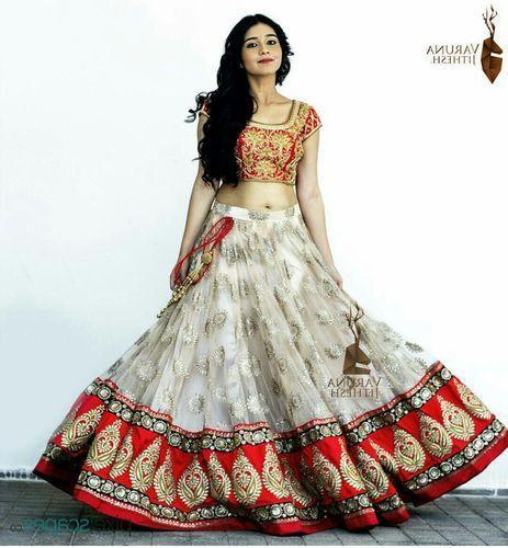 90b9e6cbd5 Women Nylon Ethnic Designer Semi-Stitched Lehenga Choli KT 2042, Rs ...