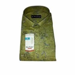 Mens Melange Printed Shirt