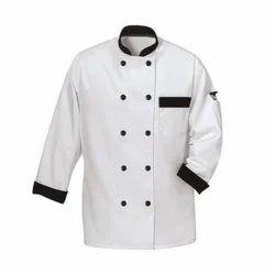 Black Button White Chef Coat