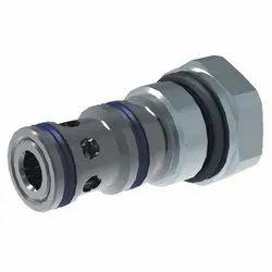 2-Way Pressure Compensator, Spool-Type, Direct-Acting
