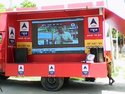 LED Screen Mobile Display Van On Hire