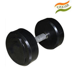 Round Cast Iron Bouncer Dumbbell, Weight: 10 - 50 Kg, for Gym