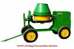 7.5 CFT Concrete Mixer Machine
