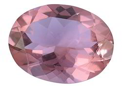 Purple Glass Morganite Gemstone