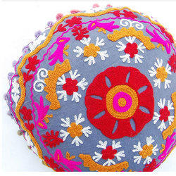 Designer Embroidered Cushion