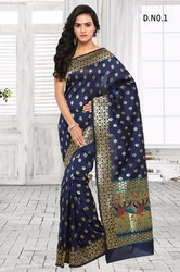 Blue South Indian Silk Sarees