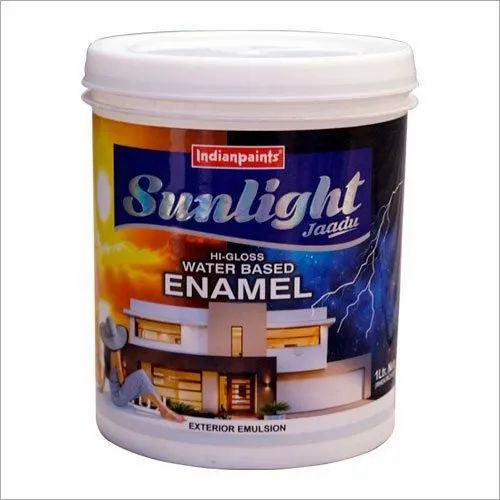 Indianpaints Emulsion Water Base Wall Paint For Industrial Packaging Type Bucket Rs 150 Litre Id 16143870388