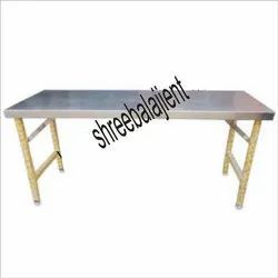 SS Dining Table Folding
