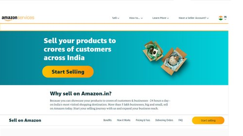 E-Commerce Seller Registration Service