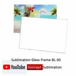 Sublimation Glass Frame BL 30