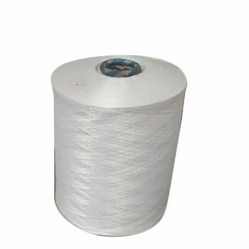 White Cable Wiring Polyester Yarn, 1000 Denier