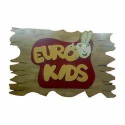 Euro Kids Sign Board