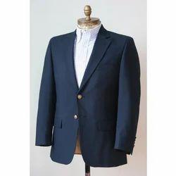 S,M,L,XL,XXL Navy Blue Blazer