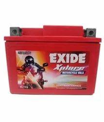 Exide XLTZ4 Explore Motor Cycle Villa Battery